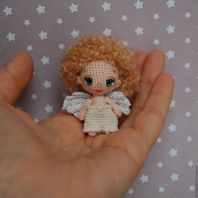 Вяжем крючком маленьким куклами 88