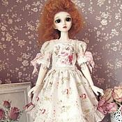 Куклы и игрушки ручной работы. Ярмарка Мастеров - ручная работа Платье  для куклы БЖД (MCD)  №32. Handmade.