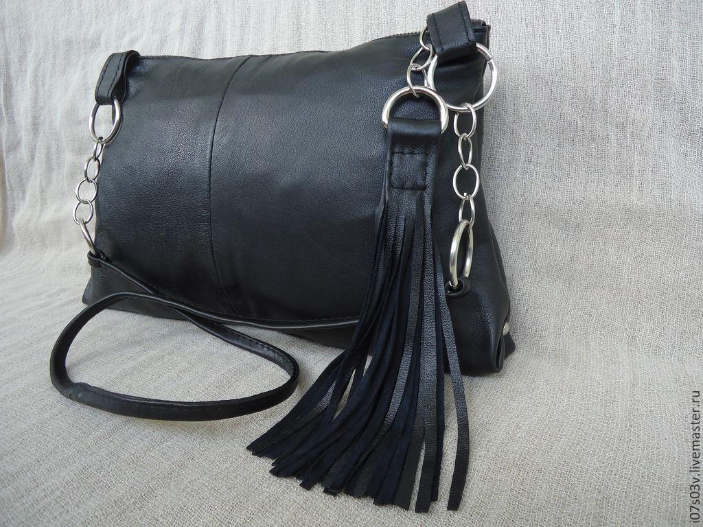 Roomy bag leather art.1-209, Classic Bag, Jelgava,  Фото №1