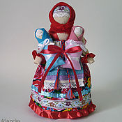 Куклы и игрушки ручной работы. Ярмарка Мастеров - ручная работа Мамушка с детьми, оберег для матери. Handmade.