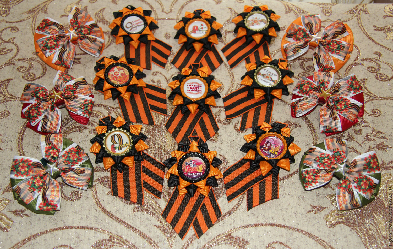 Банты и броши на 9 мая, Новогодние сувениры, Кокошкино,  Фото №1