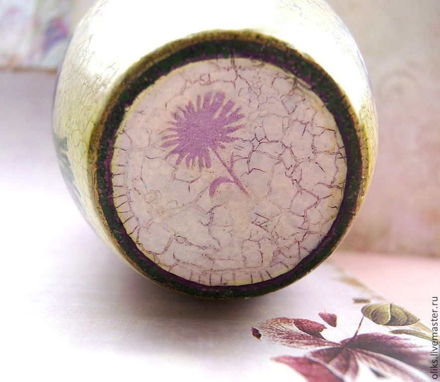 Керамический горшочек  Соцветие
