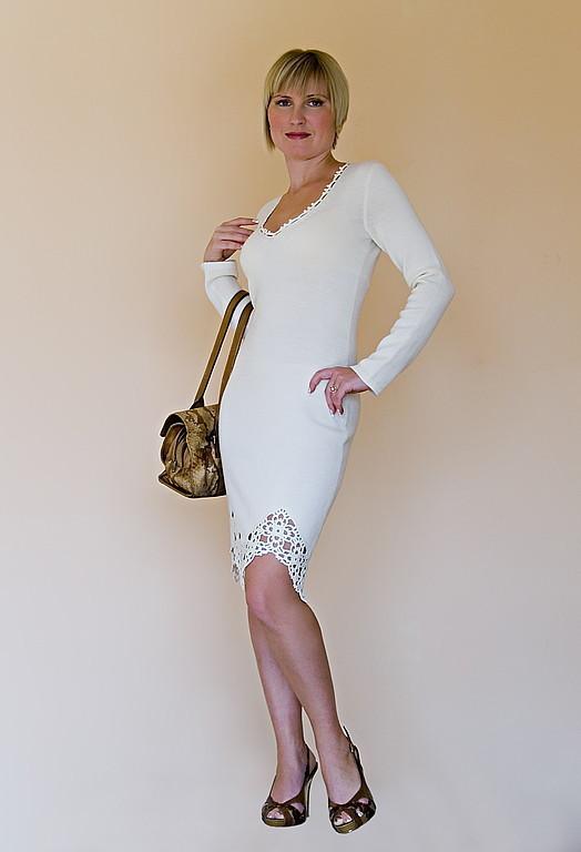 Платья ручной работы. Ярмарка Мастеров - ручная работа. Купить Платье вязаное 4224. Handmade. Платье, Платье нарядное
