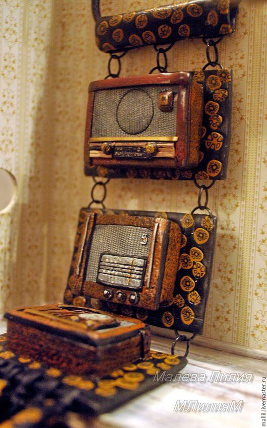 """Кулоны, подвески ручной работы. Ярмарка Мастеров - ручная работа. Купить """"Радио свободы""""крупная подвеска.. Handmade. Украшения ручной работы"""