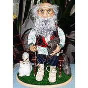 """Куклы и игрушки ручной работы. Ярмарка Мастеров - ручная работа Кукла сувенирная """"Дедушка Авдей"""". Handmade."""