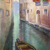 """Картины и панно ручной работы. Ярмарка Мастеров - ручная работа Картина """"Улочки Венеции"""". Handmade."""