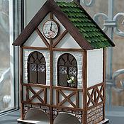 Для дома и интерьера ручной работы. Ярмарка Мастеров - ручная работа Немецкий чайный домик двойной в стиле Фахверк. Handmade.