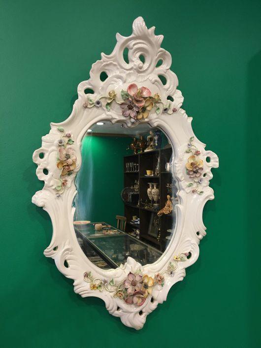 Винтажные предметы интерьера. Ярмарка Мастеров - ручная работа. Купить Зеркало. Продано .. Handmade. Зеркало, подарок, зеркало