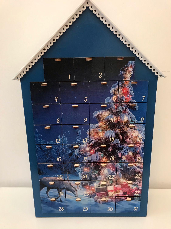 Синий Адвент календарь - Ёлочка гори, Подарки, Москва, Фото №1