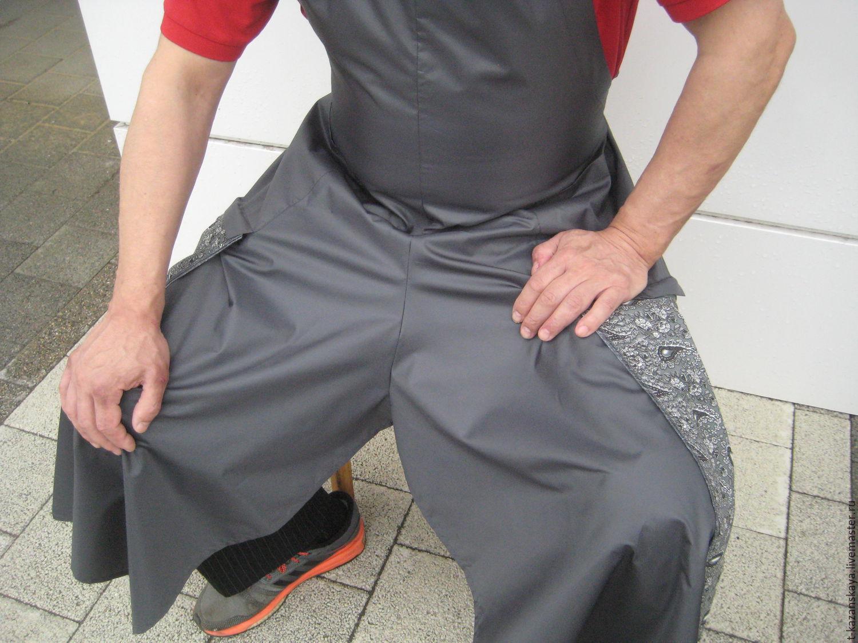 Split leg pottery apron shop online on livemaster with