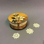 Подарки к праздникам ручной работы. Ярмарка Мастеров - ручная работа Орхидея.   Шкатулка для украшений. Handmade.