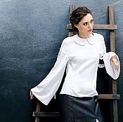 """Одежда ручной работы. Ярмарка Мастеров - ручная работа Блуза """"Летящая"""". Handmade."""
