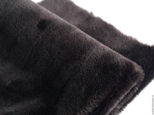 Куклы и игрушки ручной работы. Ярмарка Мастеров - ручная работа. Купить Мохер плюш темно-коричневый 10 мм (Италия). Handmade.
