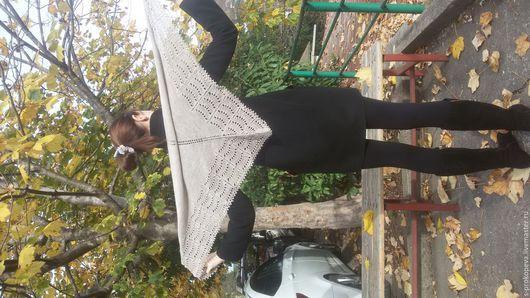 Шали, палантины ручной работы. Ярмарка Мастеров - ручная работа. Купить шаль холден. Handmade. Серый, подарок женщине