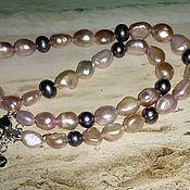 Украшения handmade. Livemaster - original item Beads pearl. Handmade.