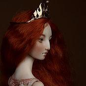 Куклы и игрушки ручной работы. Ярмарка Мастеров - ручная работа Ignis. Шарнирная кукла.. Handmade.