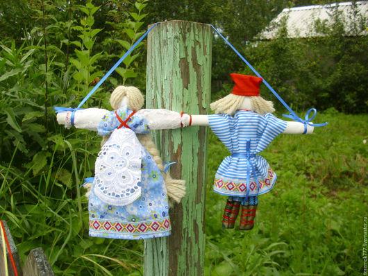 Народные куклы ручной работы. Ярмарка Мастеров - ручная работа. Купить Оберег Неразлучники. Handmade. Комбинированный, оберег неразлучники