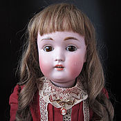 Винтаж ручной работы. Ярмарка Мастеров - ручная работа Антикварная кукла Kestner 168. Handmade.
