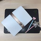 Канцелярские товары handmade. Livemaster - original item Notebook handmade leather.The A5. Handmade.