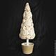 """Новый год 2017 ручной работы. Новогодняя елочка """"Кофе со сливками"""". Лу и Лё. Ярмарка Мастеров. Топиарий дерево счастья"""