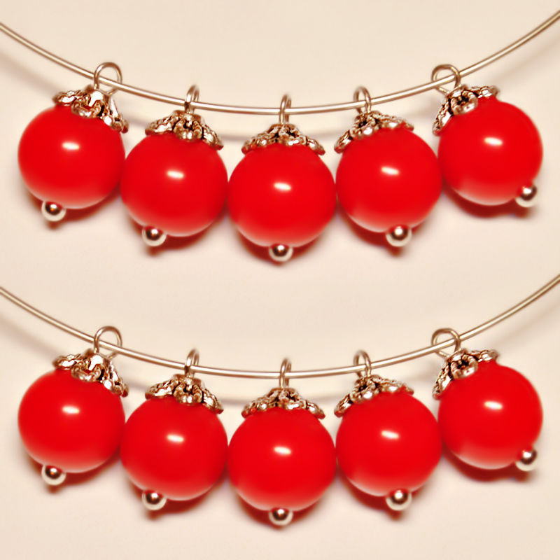 Buy acrylic pendants red berries on livemaster online shop pendants acrylic red berries mozeypictures Image collections