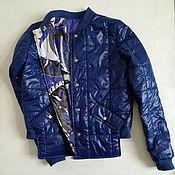 Одежда handmade. Livemaster - original item the jacket is bomber bilateral. Handmade.