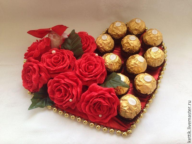 Подарки с конфет своими руками цены