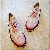 Обувь ручной работы. Ярмарка Мастеров - ручная работа Дизайнерские шузы из натуральной кожи. Handmade.