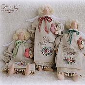 Куклы и игрушки ручной работы. Ярмарка Мастеров - ручная работа Домашние ангелы в стиле Тильда. Handmade.