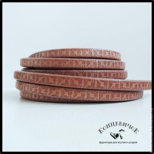 Для украшений ручной работы. Ярмарка Мастеров - ручная работа. Купить Регализ квадраты светло-коричневый Испания. Handmade. Коричневый