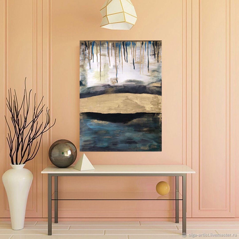 Интерьерная картина «Золотой мост», абстракция, Картины, Челябинск,  Фото №1