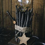 Для дома и интерьера handmade. Livemaster - original item Lamp night light