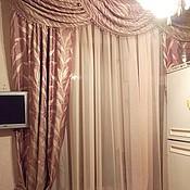 Для дома и интерьера ручной работы. Ярмарка Мастеров - ручная работа Портьеры (шторы) на кухню.. Handmade.
