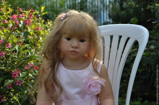 Куклы-младенцы и reborn ручной работы. Ярмарка Мастеров - ручная работа. Купить Кукла реборн Алёнка. Handmade. Бежевый