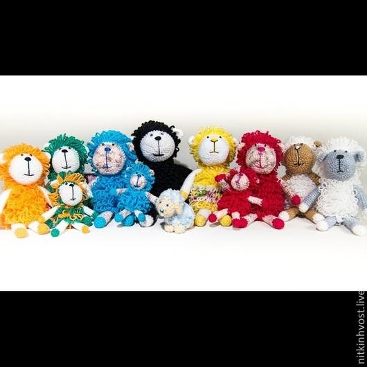 Игрушки животные, ручной работы. Ярмарка Мастеров - ручная работа. Купить Новогодняя овечка. Handmade. Вязание крючком, символ года