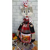 Мягкие игрушки ручной работы. Ярмарка Мастеров - ручная работа Пижамница пакетница кот Аркашка Горошко. Handmade.