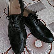 Обувь ручной работы. Ярмарка Мастеров - ручная работа Мужские Броги. Handmade.