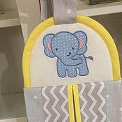 Работы для детей, handmade. Livemaster - original item Bag for diapers. Handmade.