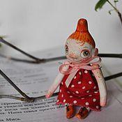Куклы и игрушки ручной работы. Ярмарка Мастеров - ручная работа горошковая Мю.... Handmade.