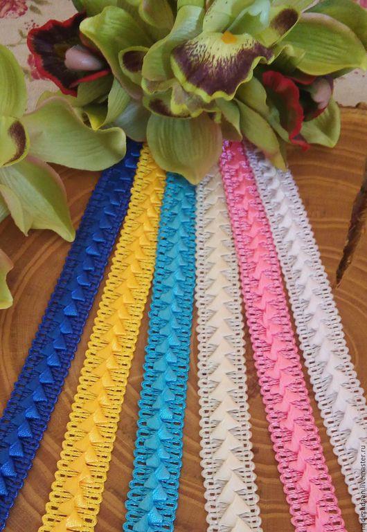 Шитье ручной работы. Ярмарка Мастеров - ручная работа. Купить Тесьма Самоса 19 мм. 6 цветов. Handmade. Комбинированный