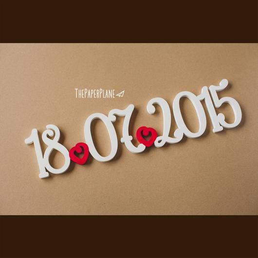 буквы на свадьбу, Петербург