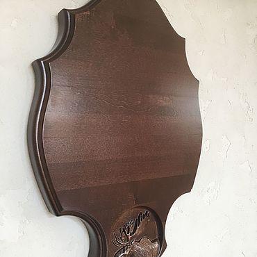 """Для дома и интерьера ручной работы. Ярмарка Мастеров - ручная работа Медальон """"Лось"""". Handmade."""