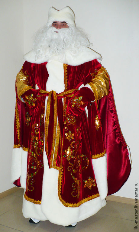 Father Frost. Scenic suit/Cosplay/Carnival costume, Suits, Vladivostok,  Фото №1