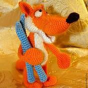 Куклы и игрушки ручной работы. Ярмарка Мастеров - ручная работа Лис Валя. Handmade.