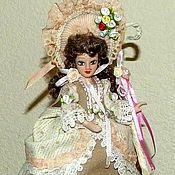 Куклы и пупсы ручной работы. Ярмарка Мастеров - ручная работа Дама (Пастушка) - фарфоровая кукла. Handmade.