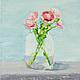 Картины цветов ручной работы. Ярмарка Мастеров - ручная работа. Купить Ранункулюсы. Handmade. Живопись, цветы, белый, картина, натюрморт