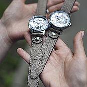 Украшения handmade. Livemaster - original item Women`s wrist watch Tiny Dragon mechanical. Handmade.