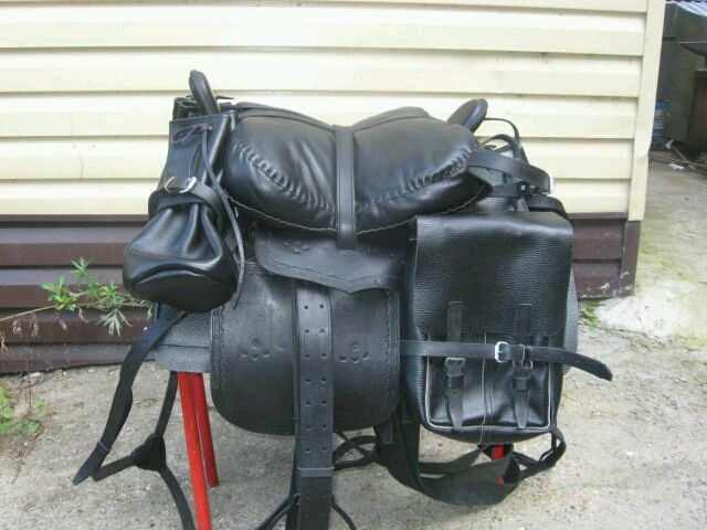 Set the Horse saddle of the Cossack with a full pack, Saddles, Kirov,  Фото №1