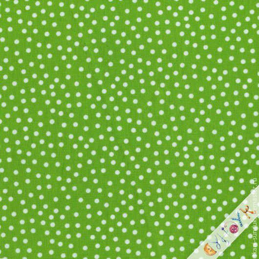 Шитье ручной работы. Ярмарка Мастеров - ручная работа. Купить Датский хлопок 50х55см. Handmade. Ярко-зелёный, ткань для рукоделия