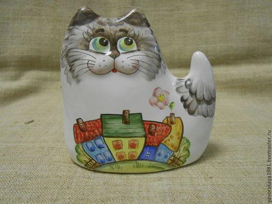 Подарочные наборы ручной работы. Ярмарка Мастеров - ручная работа. Купить Котик Пряник маленький. Handmade. Кот, сувенир